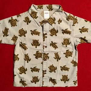 Gymboree turtle print shirt
